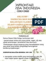 Konfrontasi Malaysia- Indonesia (1963-1966)