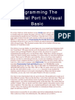 Programming the Parallel Port in Visual Basic