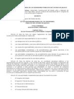 Ley de Responsabilidades de los servidores Públicos del Edo. de Jalisco