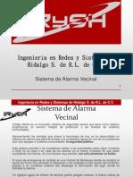 Alarma Vecinal IRySH