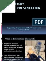 Respiratory Therapy Presentation