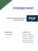 Strength of material