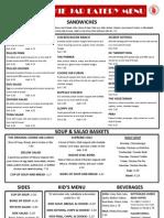 Cookie Jar Eatery menu
