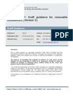 Feed In Tariff Generator Guidance