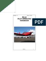 Van's Aircraft RV-12 Pilot's Operating Handbook rev5
