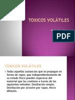 TOXICOS VOLÁTILES