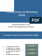 Fndamentos de Marketing