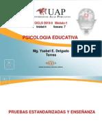 Ayuda 7- PRUEBAS ESTANDARIZADAS Y ENSEÑANZA