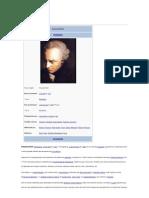 Wikpédia # Immanuel Kant