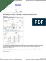 Assembling the Arduino Diecimila Compatible Freeduino Board USB