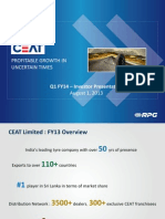 Investor Presentation Q1FY14