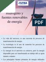 Energia Pilas c Hidrogeno y Fuentes Renovables de Energia