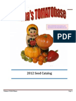 2012 TOMATObase Seed Catalog - V17