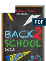 American Press Back 2 School Special Section