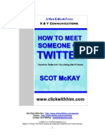 How To Meet A Great Man On Twitter by Scot McKay