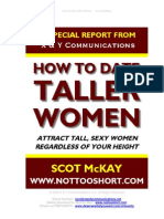 How To Date Taller Women by Scot McKay