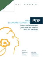 Dossier de Presse Loi Economie Sociale Et Solidaire