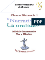 1era Clase a Distancia (Narrativa)