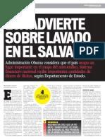 Lavado de dinero El Salvador