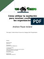 Mediacion y Conflictos Organizacionales