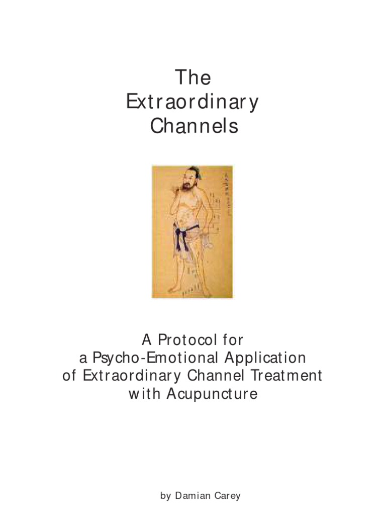 The Extraordinary Channels | Traditional Chinese Medicine | Acupuncture