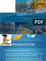 Presentación Educación Inicial