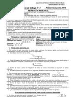 Guia Trabajo 4 Principios de Newton Aplicaciones Con Fuerzas Constantes Roce Entre Superficies Solidas S1 2013