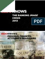 BBDO KNOWS Attitudes & Behaviors in Personal Finance