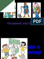 Housework Vocab