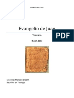 Material Original Alumno Evangelio de Juan 2013