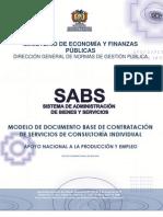 DBC DE SERVICIOS DE CONSULTORÍA INDIVIDUAL ANPE