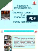 PRESENTACION FONDO FEM