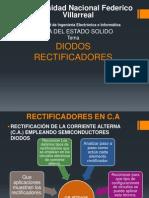 DIODOS RECTIFICADORES