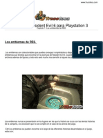 Guia Resident Evil 6 Playstation 3
