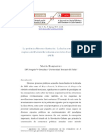 Martin Mangiantini - La Polemica Moreno-Santucho. La Lucha Armada y La Ruptura Del PRT