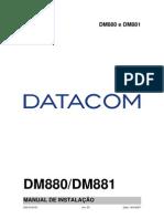204-0103-03 DM880 e DM881- Manual de instalação
