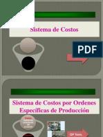 Costos Por Ordenes y Proceso