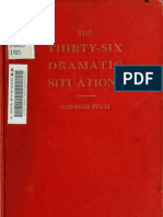 LIVRO - CINEMA - The Thirty-Six Dramatic Situations - Georges Polti