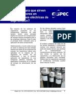 Capacitores en Instalaciones Electricas de Baja Tension