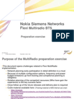 Flexi MultiRadio Preparation Exercise