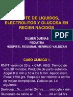 Aporte de Liquidos, Electrolitos y Glucosa En