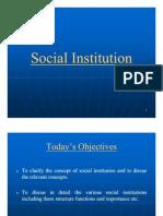 28444967 BBA L03 DT Social Institution