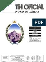 Ley 8661- Reforma Judicial de La Rioja