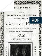 Fiestas Del Portal Ribadavia 1939