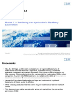Module 03 3 - Previewing Your Application in BlackBerry Environment