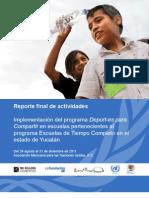Mexico - Deport Es Compartir - Yucatan