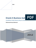 Oracle E-business Suite r12 Installation Guide