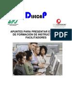Material teorico para el curos de formaciòn de instructores  mayo de 2012