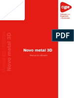 Novo Metal 3D - Manual Do Utilizador
