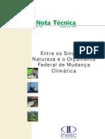 NT. 156 - Mudancas Climaticas